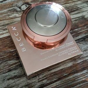 Becca Shimmering Pressed Powder- Blushed Copper